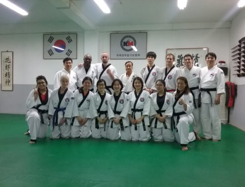 Team T.H.A in South Korea