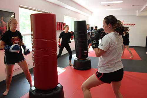 north york womens kickboxing