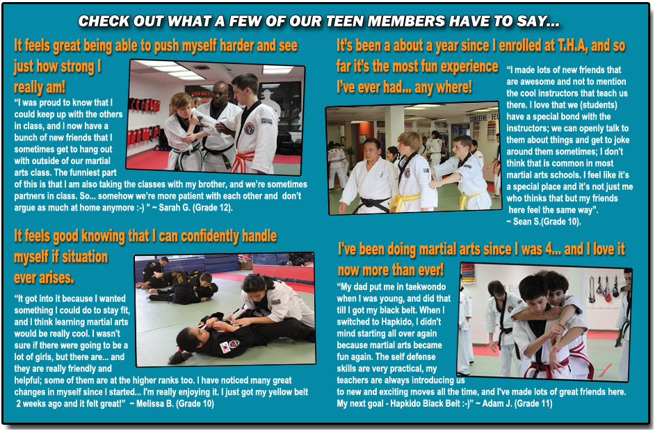 Teen Martial Arts Classes in Toronto