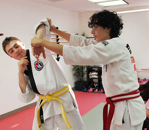 teen self defense