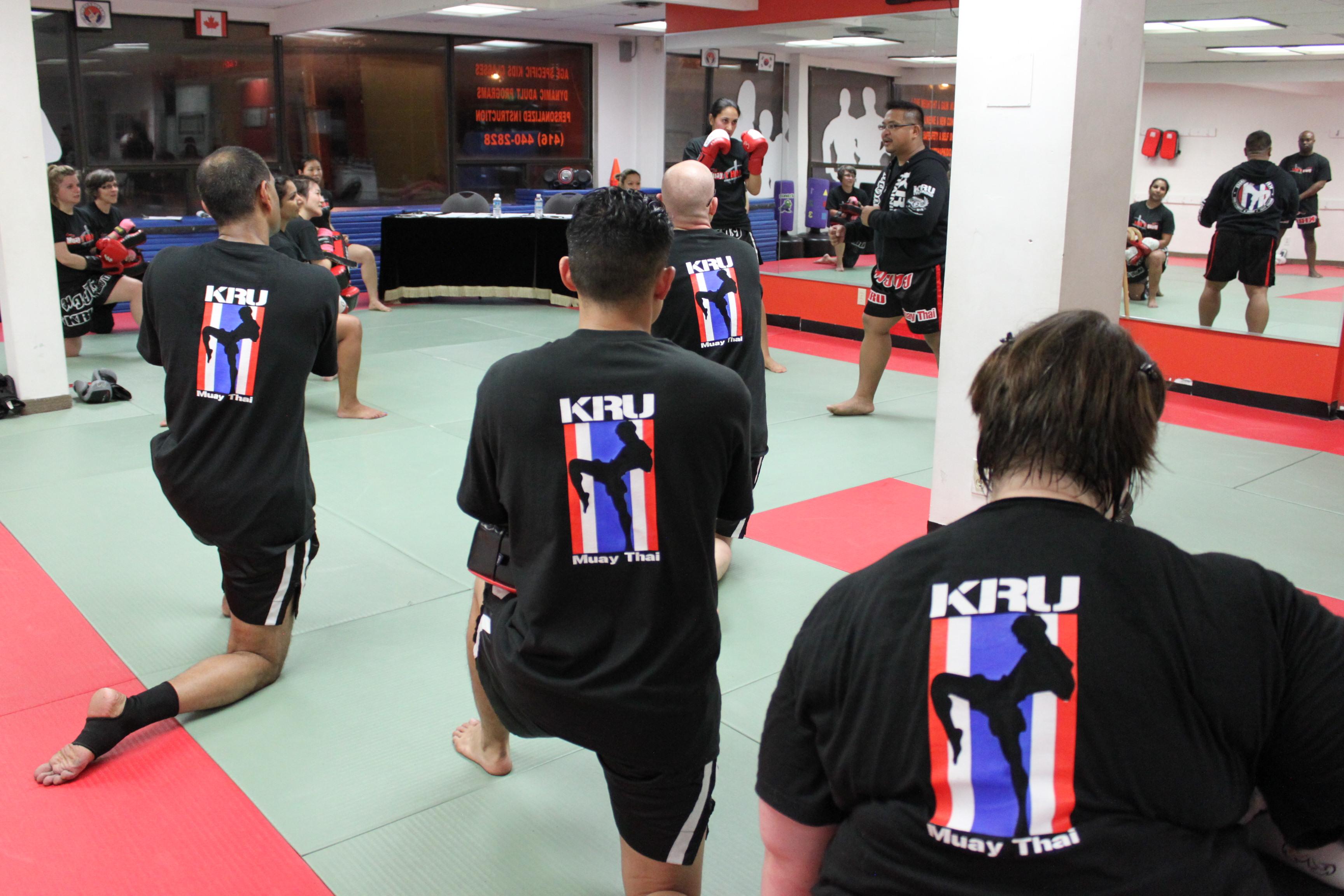 Toronto Muay Thai class for beginners