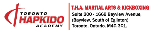 T.H.A Martial Arts & Kickboxing Toronto Logo