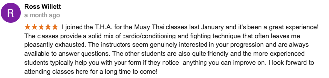 muay thai toronto reveiws