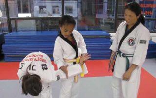 white belt hapkido