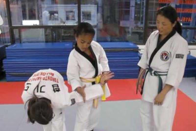 white belt hapkido