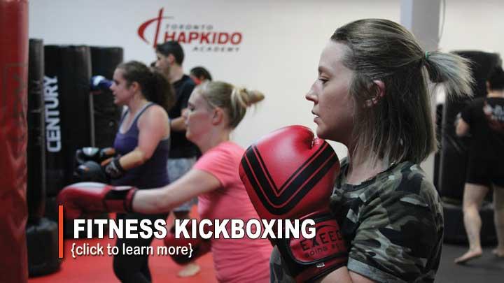 fitness kickboxing class toronto