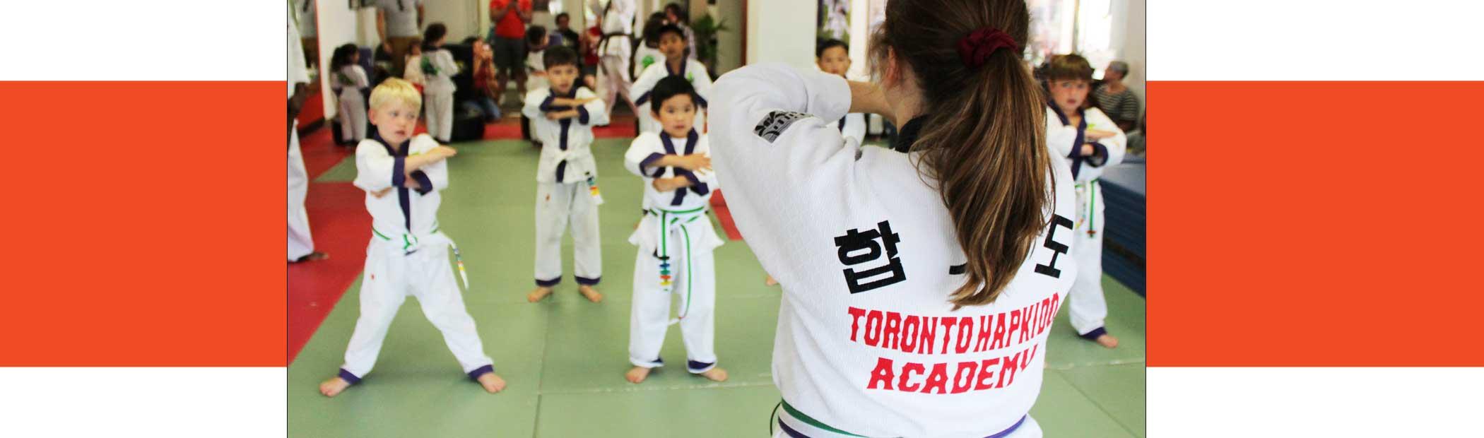 kids taekwondo north york