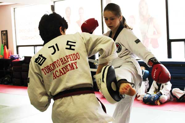 youth kickboxing toronto