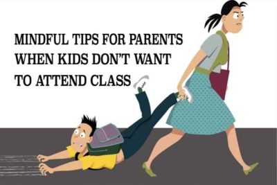 tips for parents when kids don't want to participate
