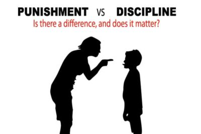 punishment vs. discipline for kids