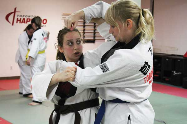 women self defense toronto
