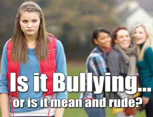 Is it bullying or rude and mean behaviour?