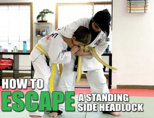 How to Escape Standing Side Headlock