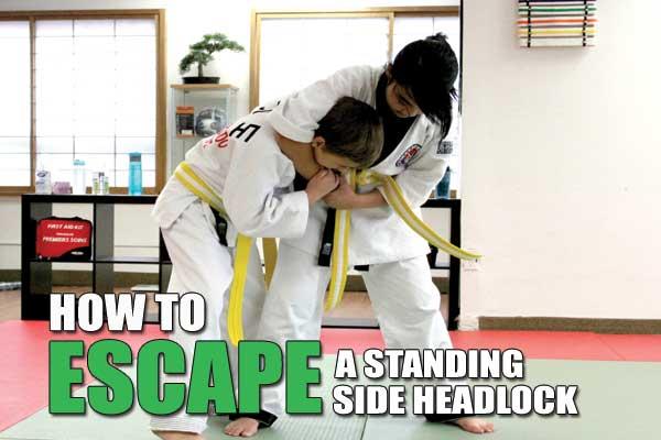 how to escape standing headlock