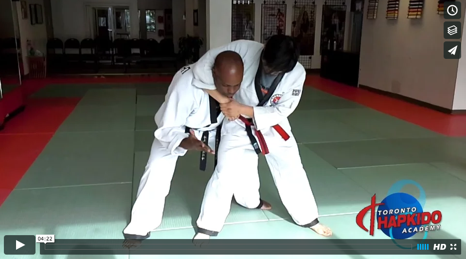 how to escape a standing side headlock