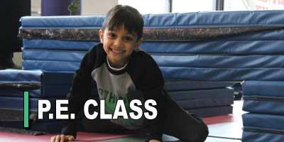 P.E. Class for kids