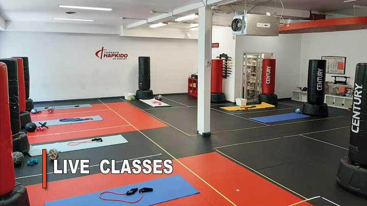 Safe fitness class Toronto